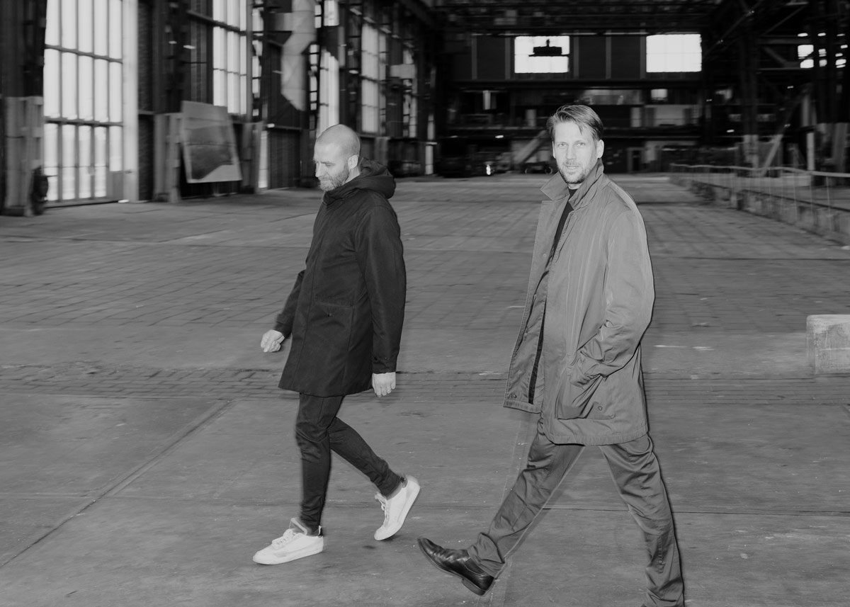 BETA partner photograph of Evert Klinkenberg and Auguste Gus van Oppen image by Jussi Puikkonen
