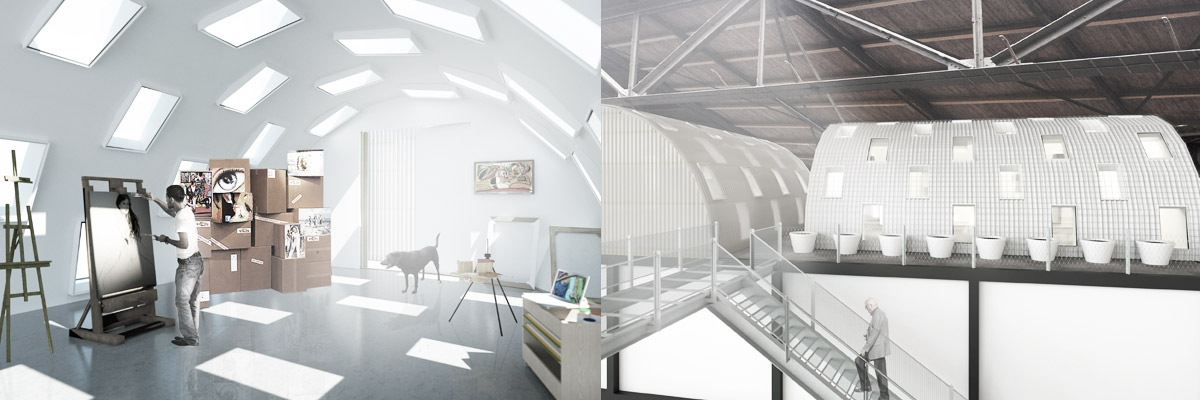 BETA laboratory NDSM Kunststad third layer impressions