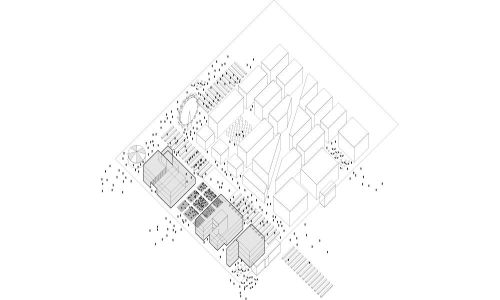 BETA NDSM redevelopment strategy isometric