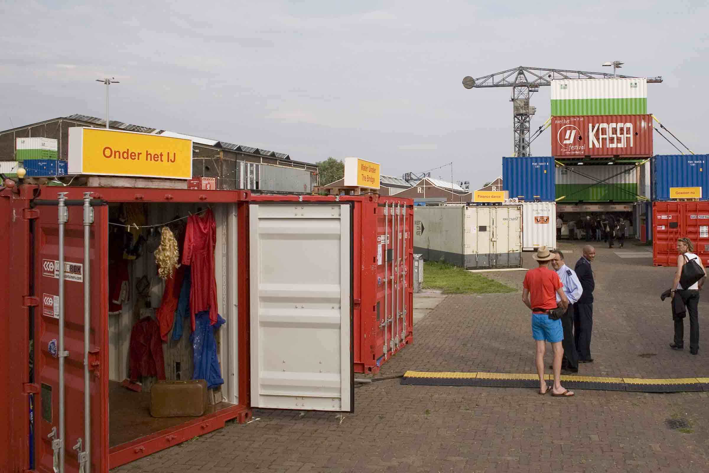 BETA office for architecture and the city Amsterdam NDSM temporary shipping container city village