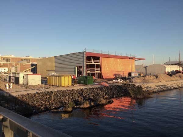 BETA office for architecture and the city Amsterdam Boat Hangar construction photo