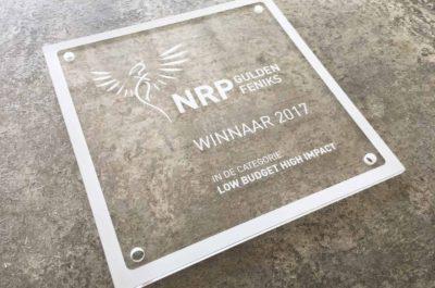 Ru Paré Community wins NRP Gulden Feniks 'Low Budget High Impact'
