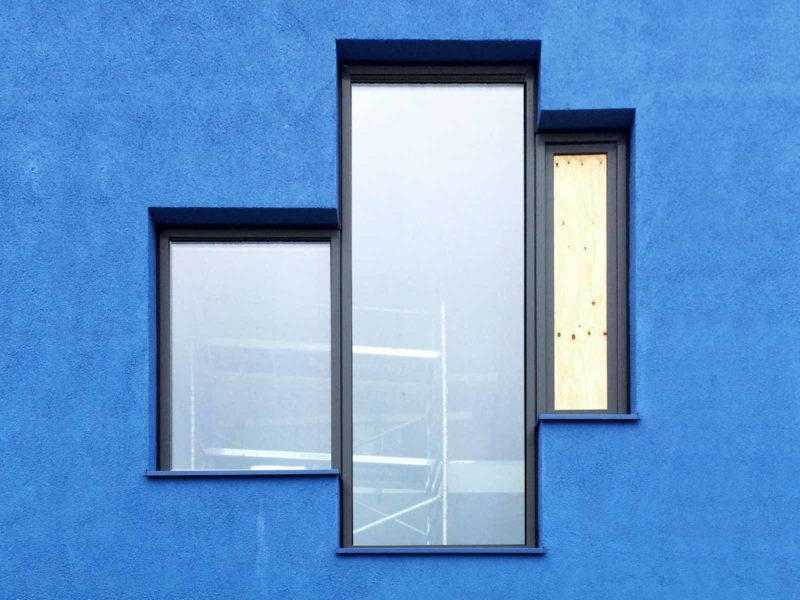 BETA office for architecture and the city Amsterdam Blue House construction photo