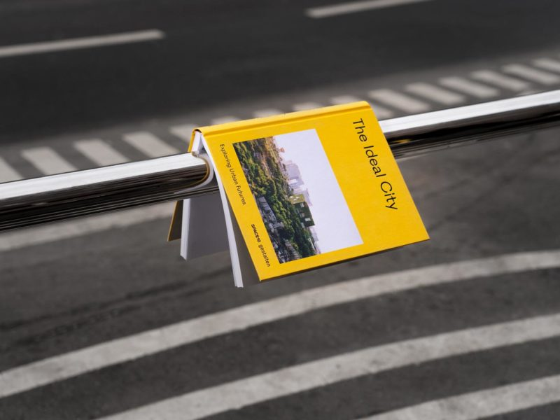 photograph of The Ideal City book by Space10 for Gestalten publishers