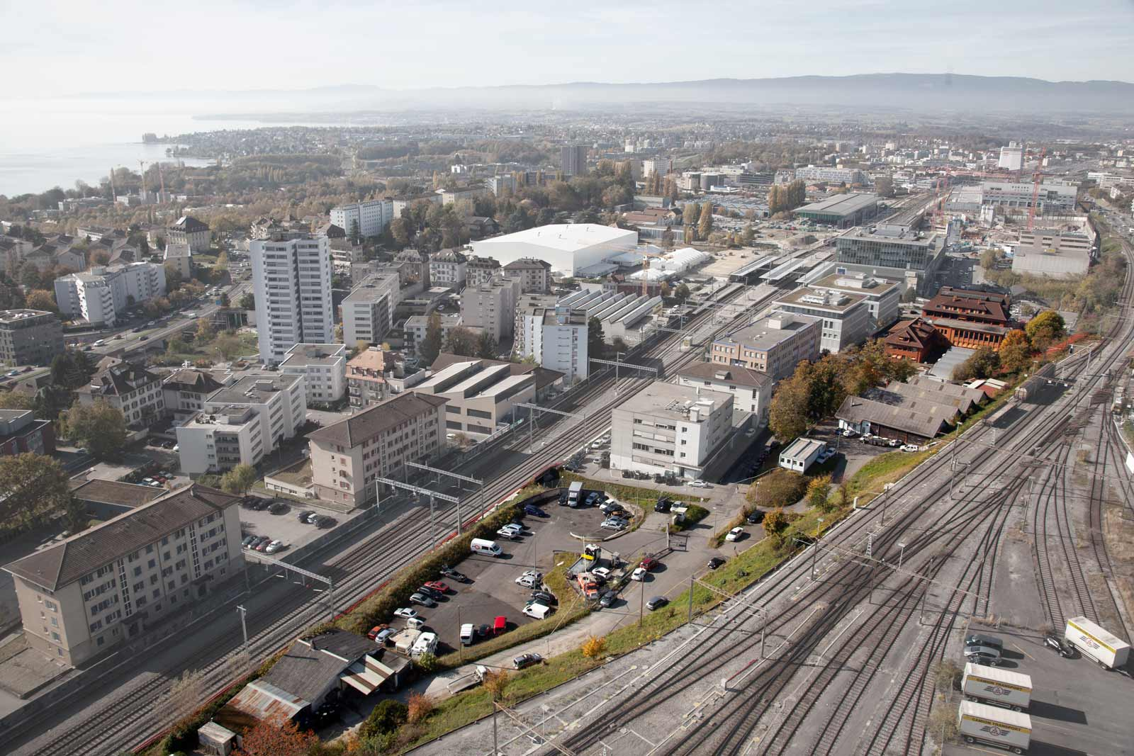 BETA shortlisted for an urban study in Lausanne, Switzerland