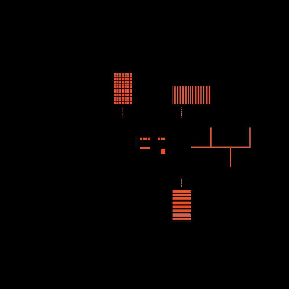 concept diagram for Nagele by beta architects amsterdam Evert Klinkenberg Auguste Gus van Oppen