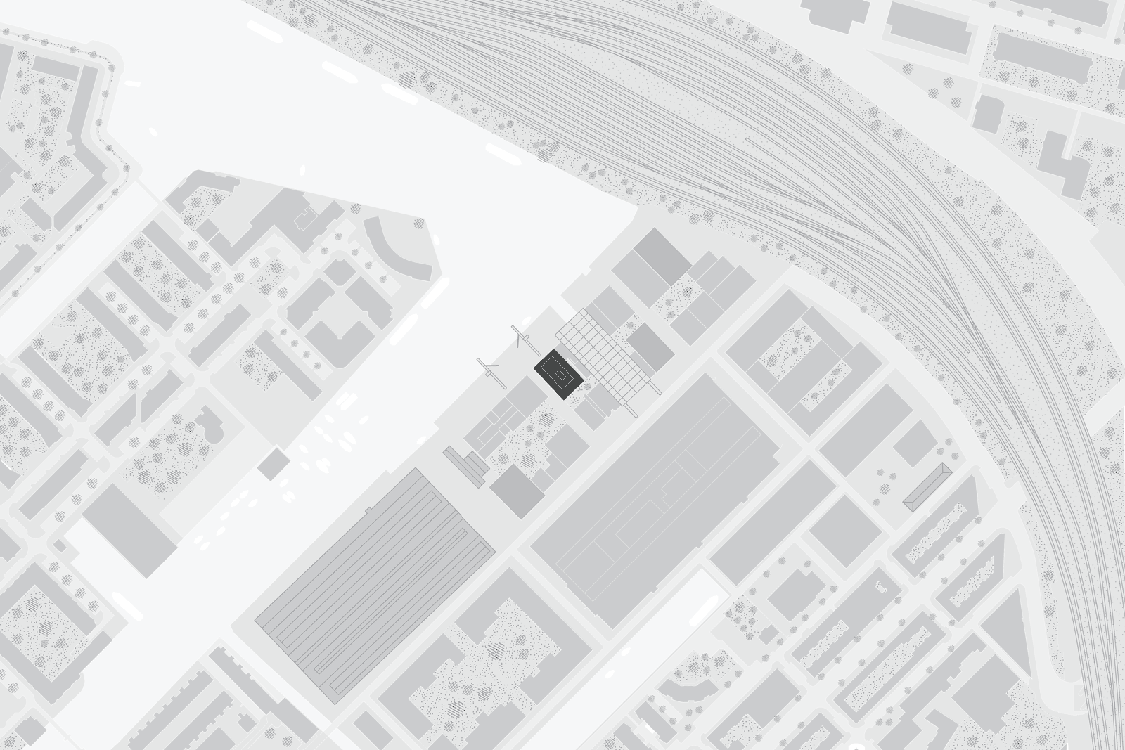 site plan of Oostenburg project by beta architect amsterdam Evert Klinkenberg Auguste Gus van Oppen