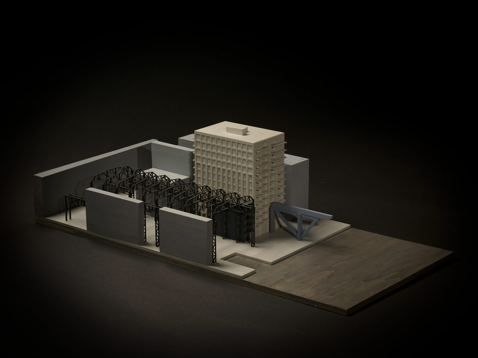 photo of Oostenburg urban model by beta architect amsterdam evert klinkenberg gus auguste van Oppen